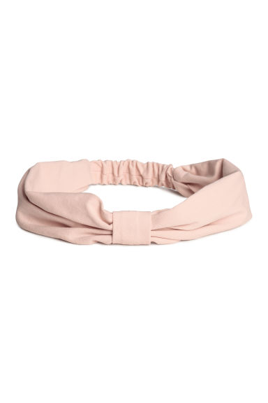 2-pack jersey hairbands - Turquoise/Powder pink - Kids | H&M