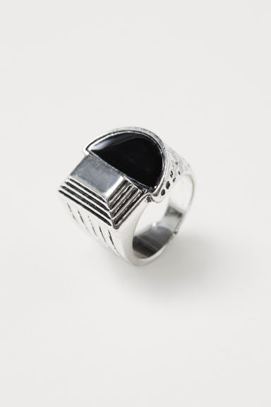 Metal ring - Silver-coloured - Men | H&M