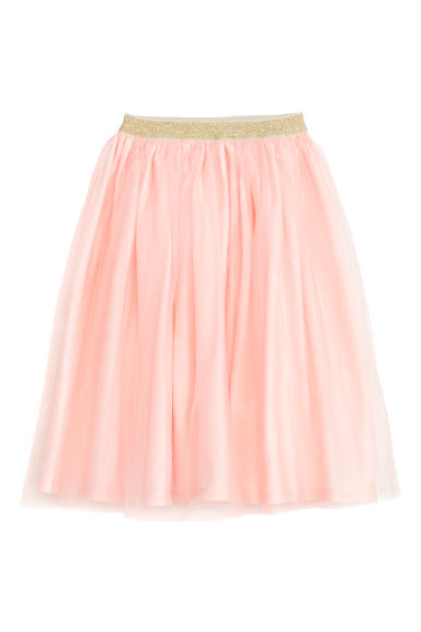 Tulle skirt - Powder pink -  | H&M