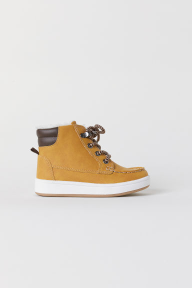 Sneakers alte foderate - Ocra - BAMBINO | H&M IT