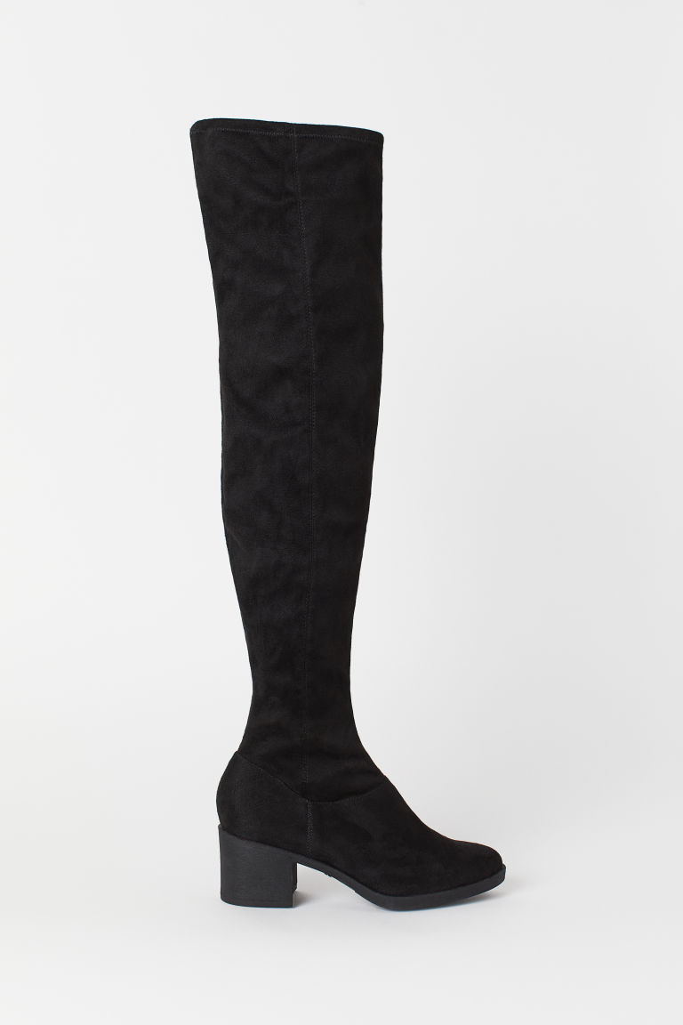 Knee-high boots - Black -  | H&M