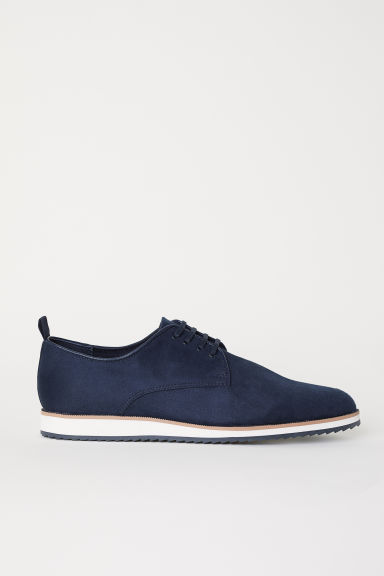 Oxford shoes - Dark blue - Men | H&M
