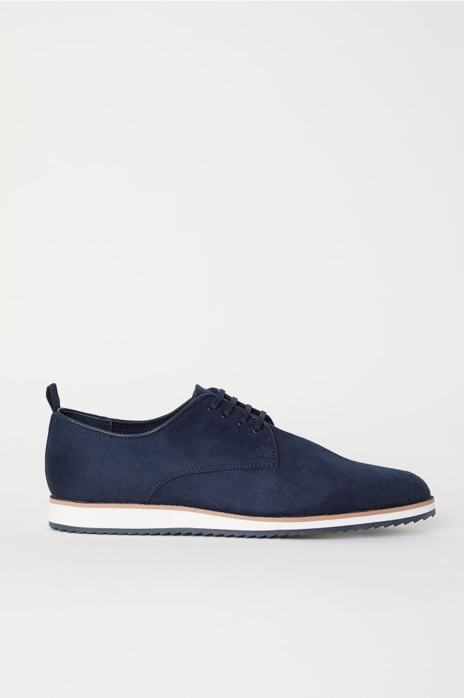 6eff39eea1d7 Derby shoes - Dark blue - Men