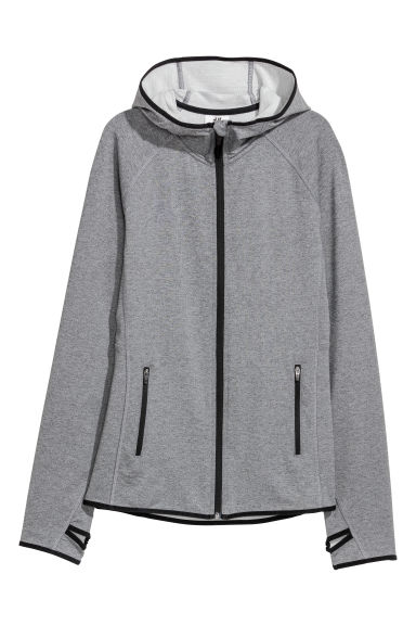 Outdoor jacket - Grey marl -  | H&M