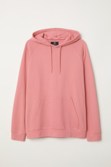 Hooded Raglan-sleeve Shirt