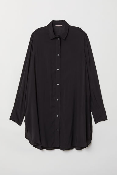 H&M+ Tunic - Black - Ladies | H&M CN