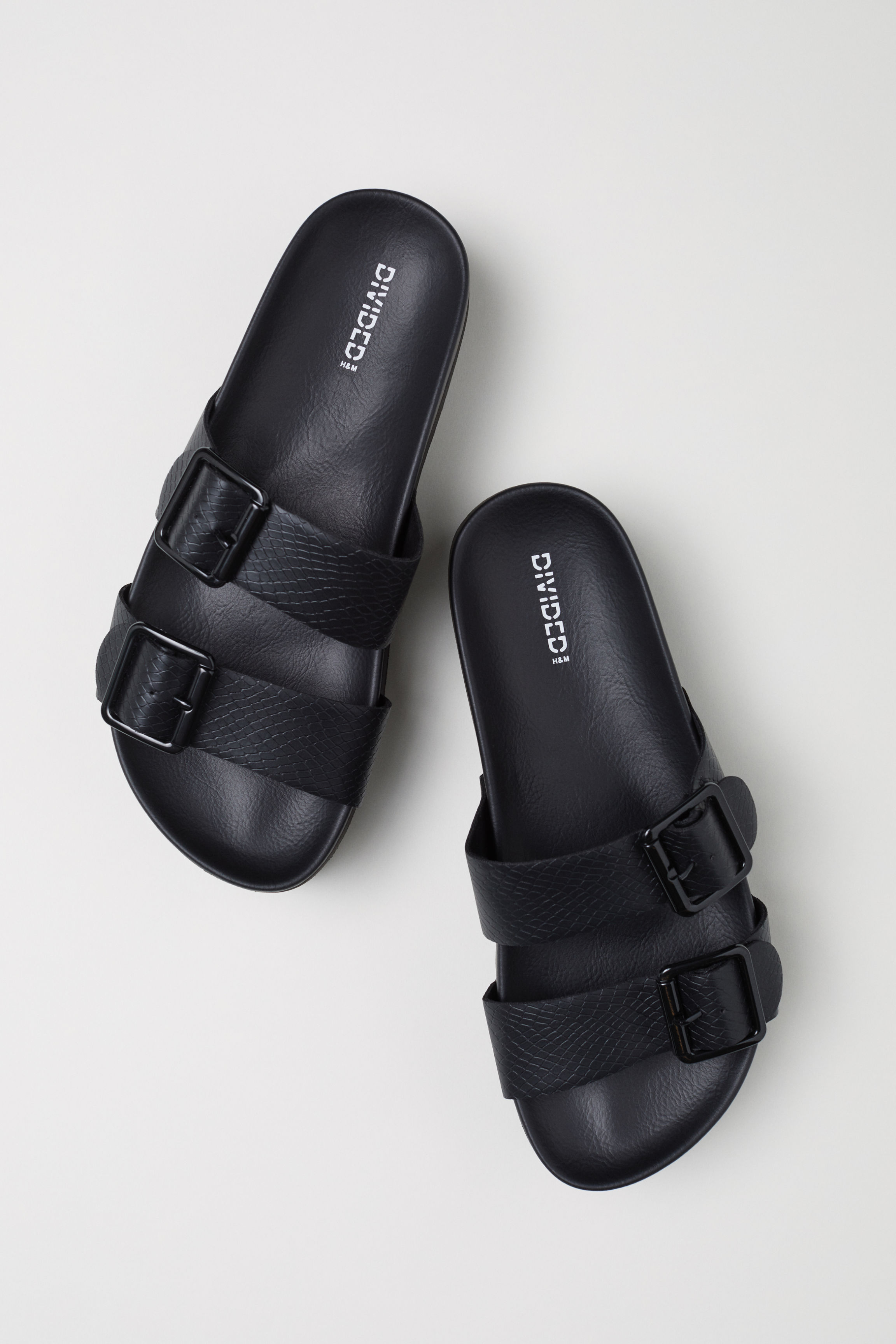 22b428cbb7c Platform Sandals - Black -
