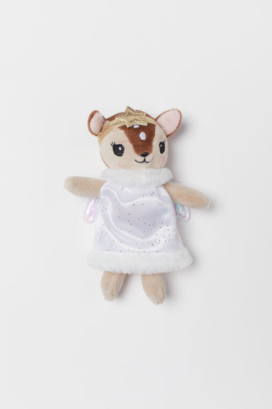 Soft toy - Light beige/Deer - Kids | H&M