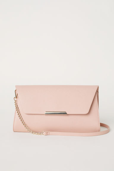 Clutch bag - Powder pink - Ladies | H&M GB