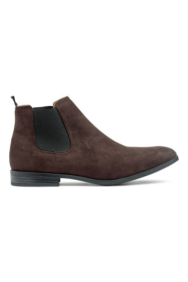 Chelsea boots - Dark brown -  | H&M CN