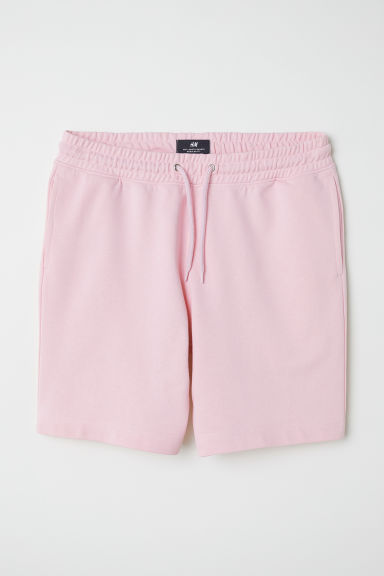 Sweatshirt shorts - Pink - Men | H&M