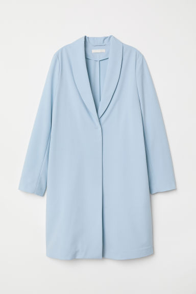 Long jacket - Light blue - Ladies | H&M CN