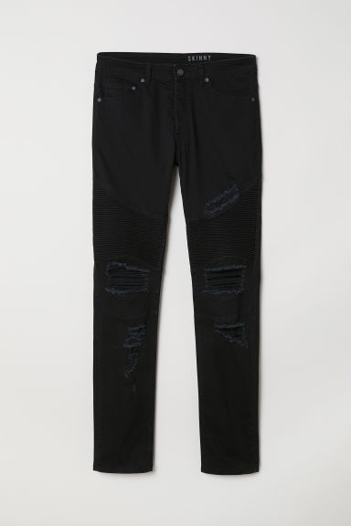 Biker jeans - Black - Men | H&M