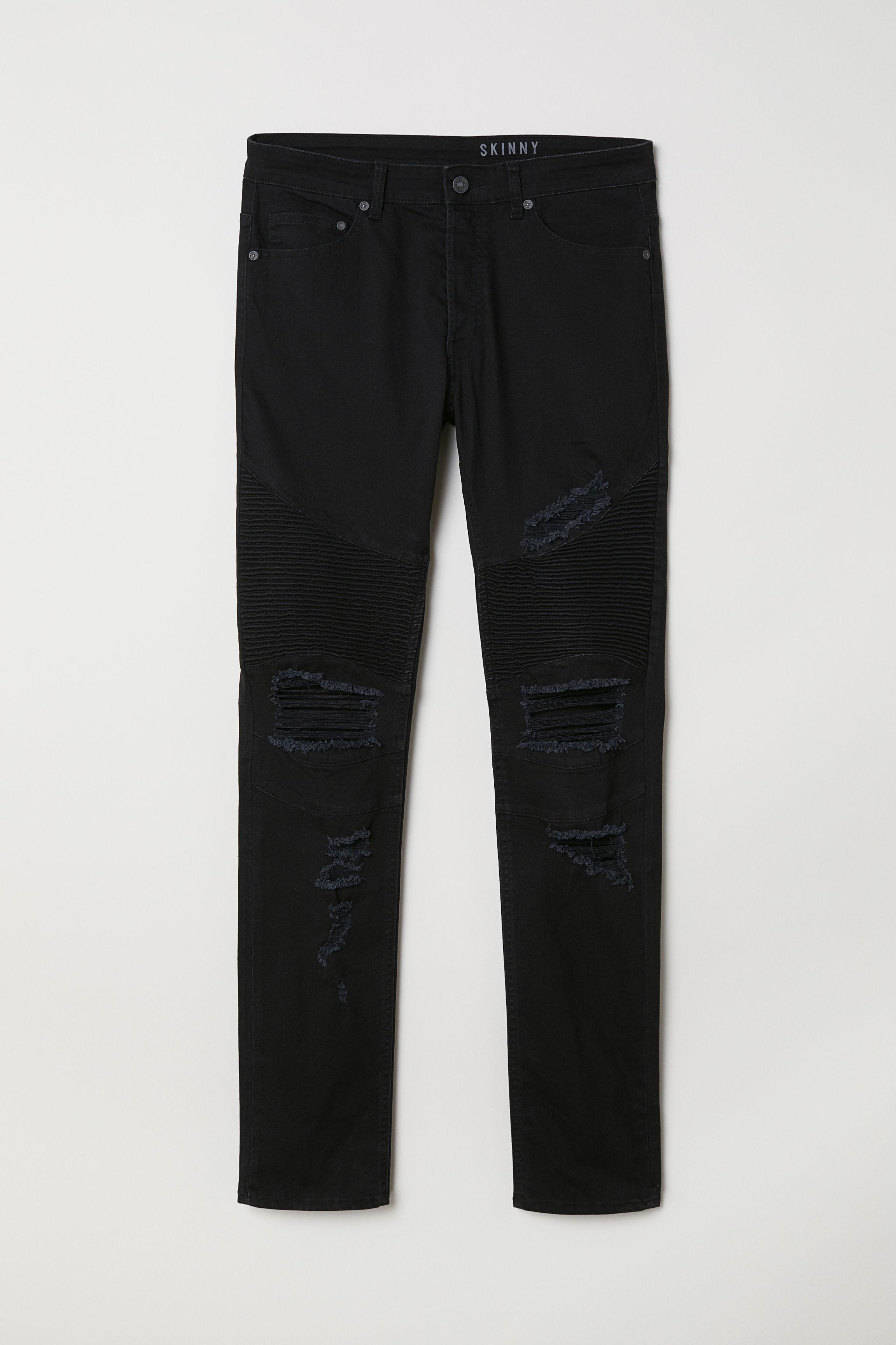 3f3d0681 Biker Jeans - Light blue denim - Men | H&M US