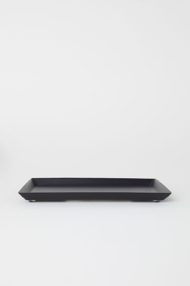 Small metal tray - Black - Home All | H&M IE