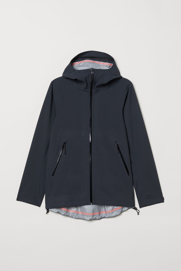 Chaqueta shell - Azul oscuro - MUJER | H&M ES