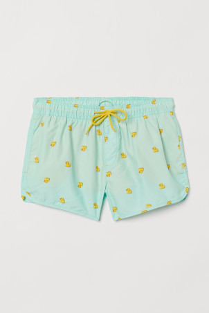 Shorts de baño estampados