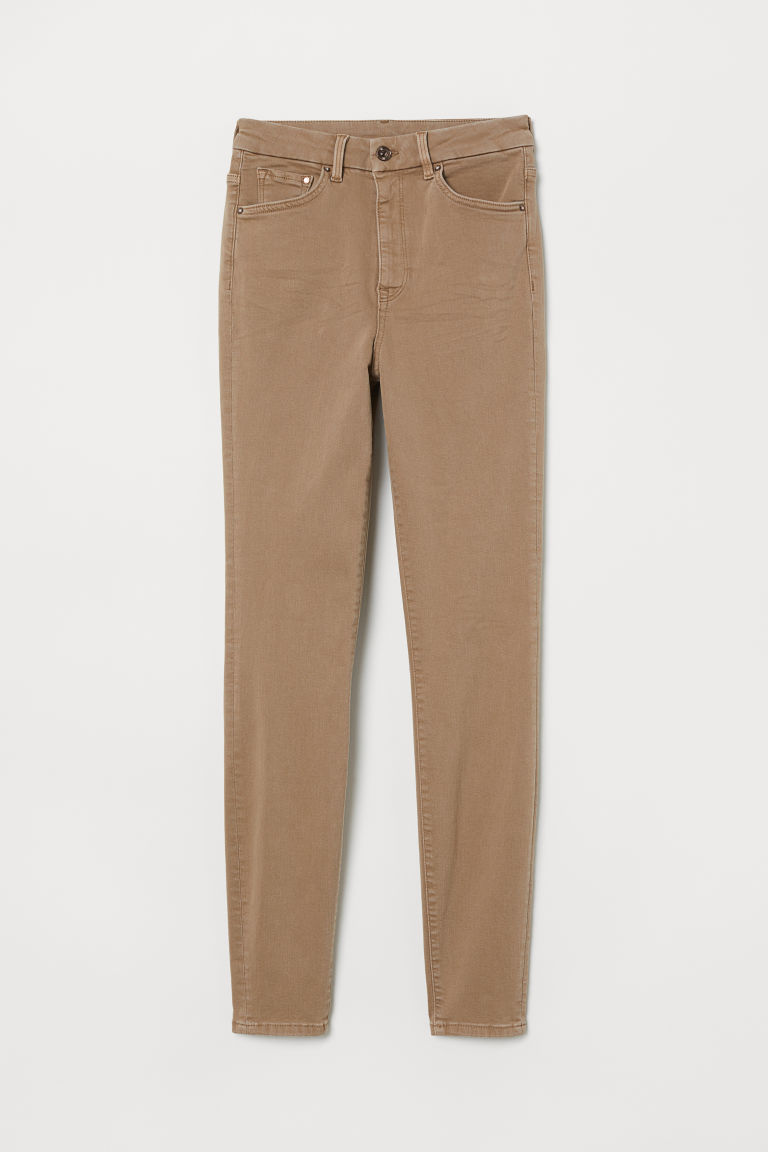 Embrace High Ankle Jeans - Beige -  | H&M ES