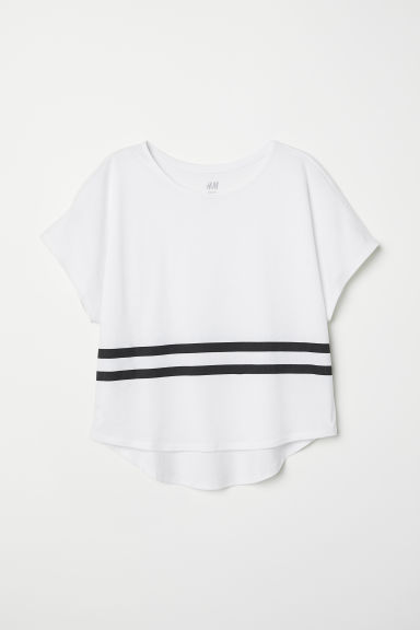 Modal-blend top - White - Kids | H&M CN