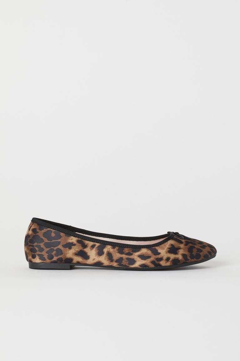 Ballet pumps - Brown/Leopard print - Ladies | H&M IE