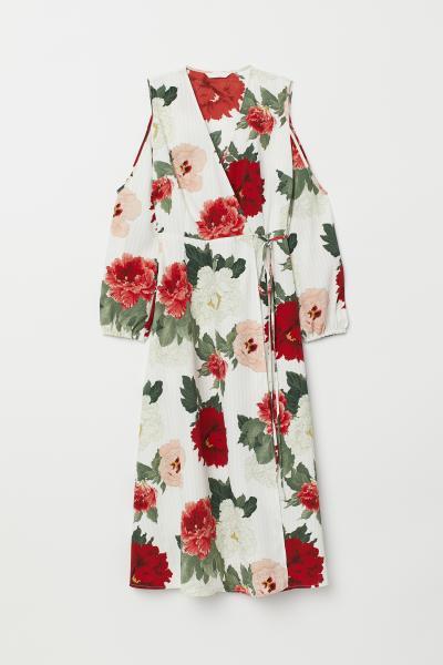 H&M - Vestido cruzado - 5
