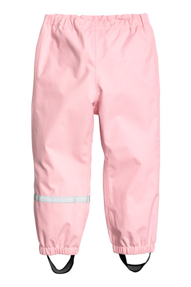 Pantalon softshell - Rose clair -  | H&M BE