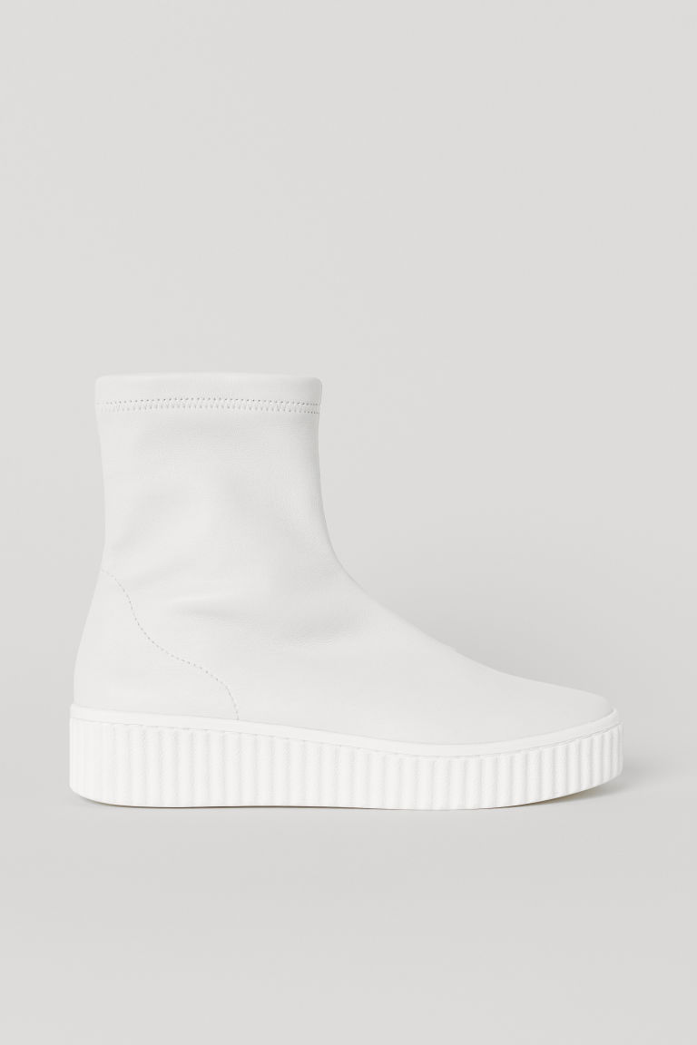 Hi-tops - White - Ladies | H&M