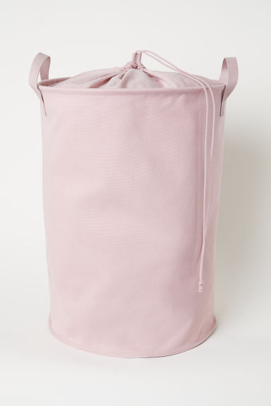 Cotton Twill Laundry Bag - Light pink - Home All | H&M US