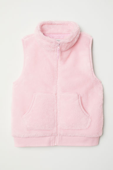 Pile gilet - Light pink - Kids | H&M