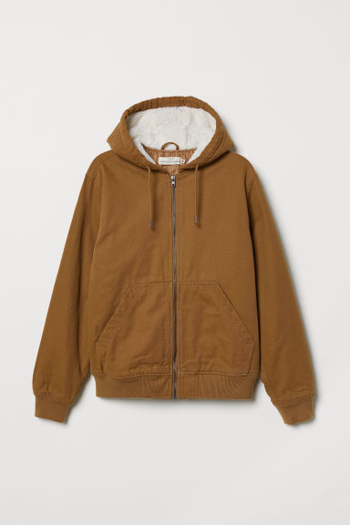 Padded jacket - Camel - Men | H&M CN