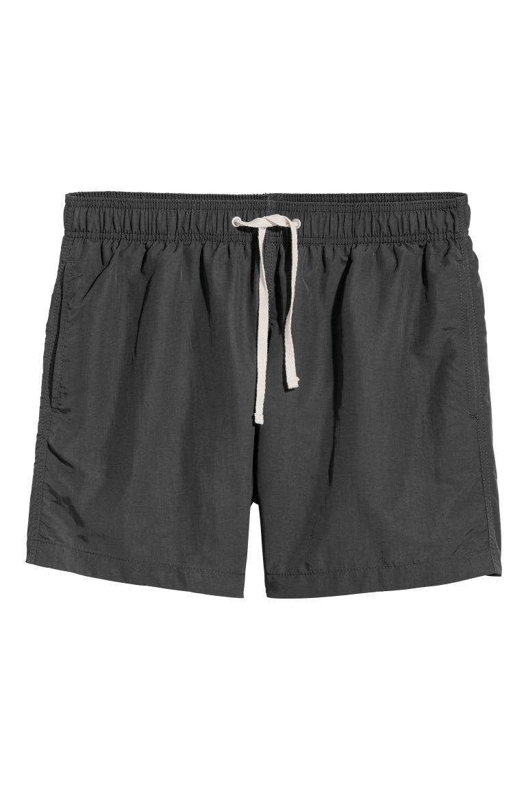 Swim shorts - Black - Men | H&M CN