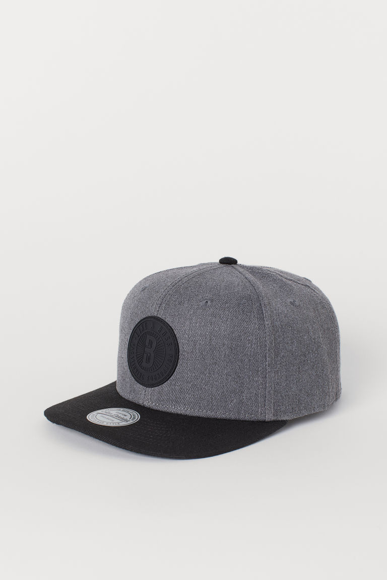 Cap - Dark grey marl/Black - Men | H&M