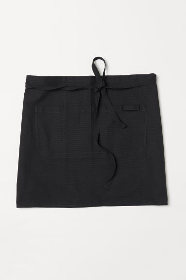 Delantal - Negro - HOME | H&M ES