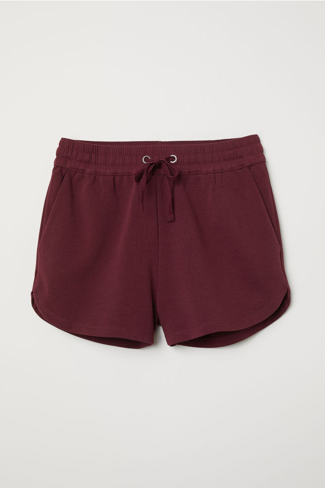 0faf8c58cf66 Sweatshirt shorts - Burgundy - Ladies