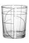 Verre transparent/motif