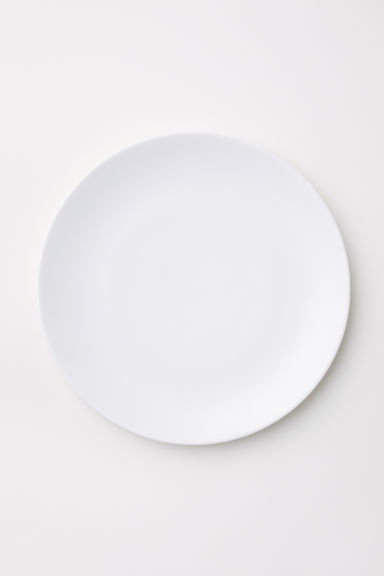 Porcelain Plate - White - Home All | H&M US