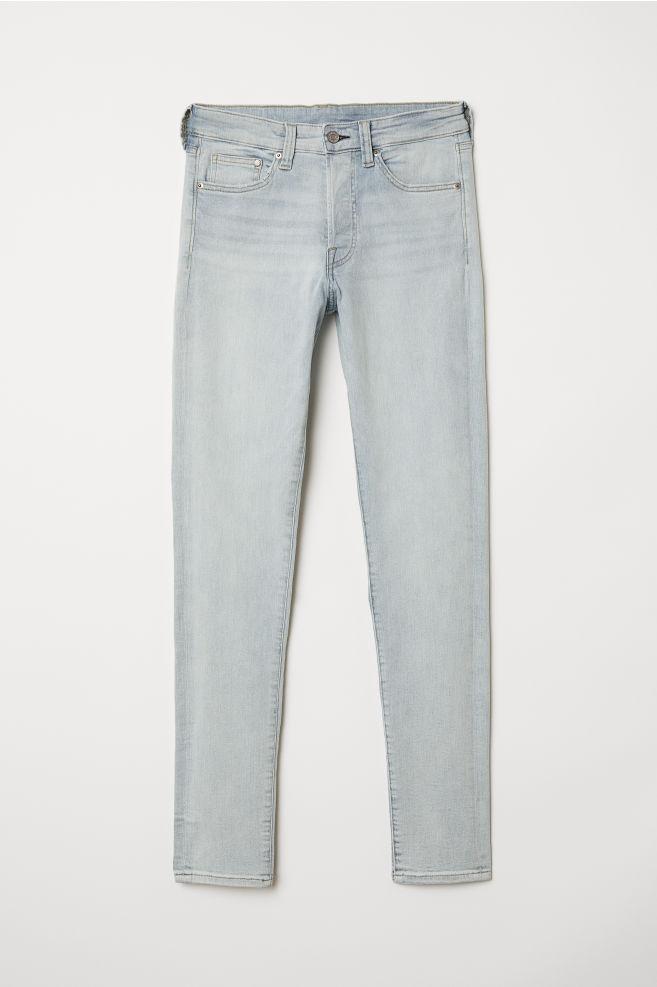 e4f25712b76318 Skinny Jeans - Light blue - Men   H&M ...