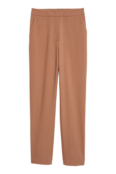 Tailored trousers - Light brown -  | H&M
