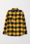 Yellow/Black checked