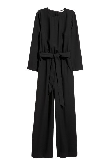 Jumpsuit - Black - Ladies | H&M