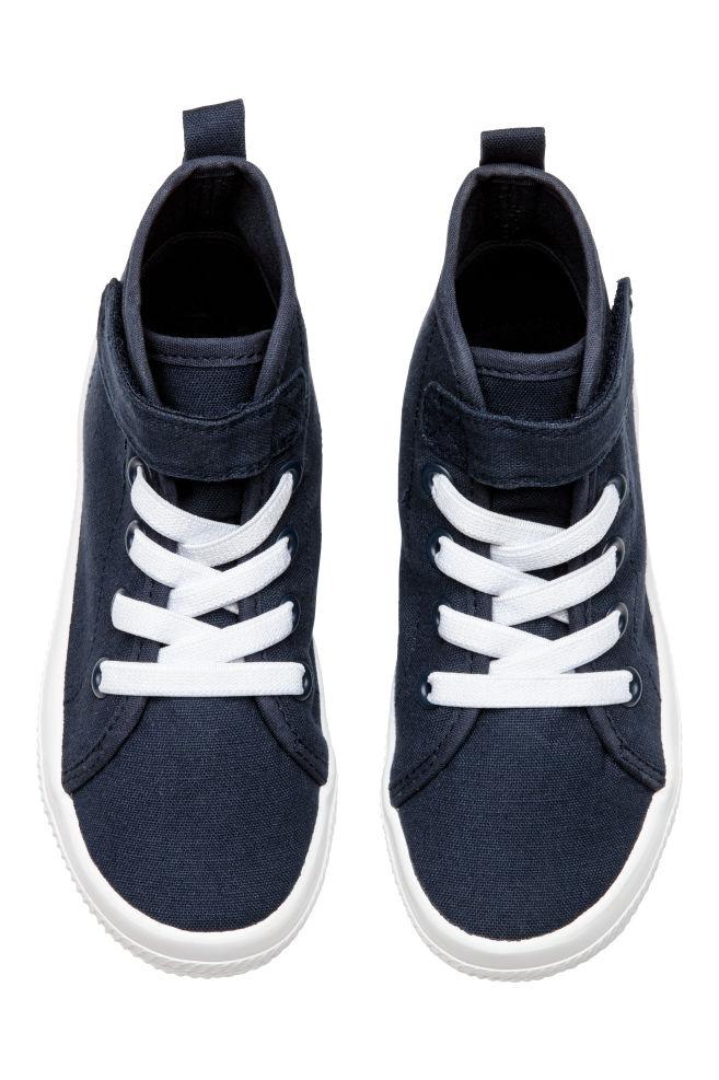 4f0331d8 Płócienne buty sportowe - Ciemnoniebieski - Dziecko | H&M ...