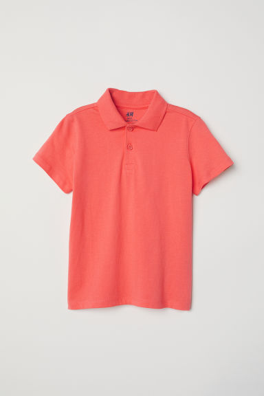Polo shirt - Orange - Kids | H&M CN