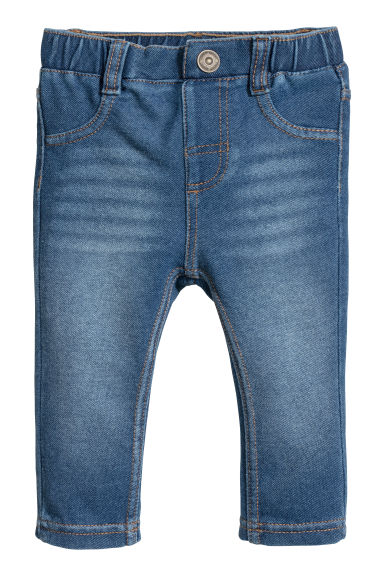 Denim leggings - Denim blue - Kids | H&M CN