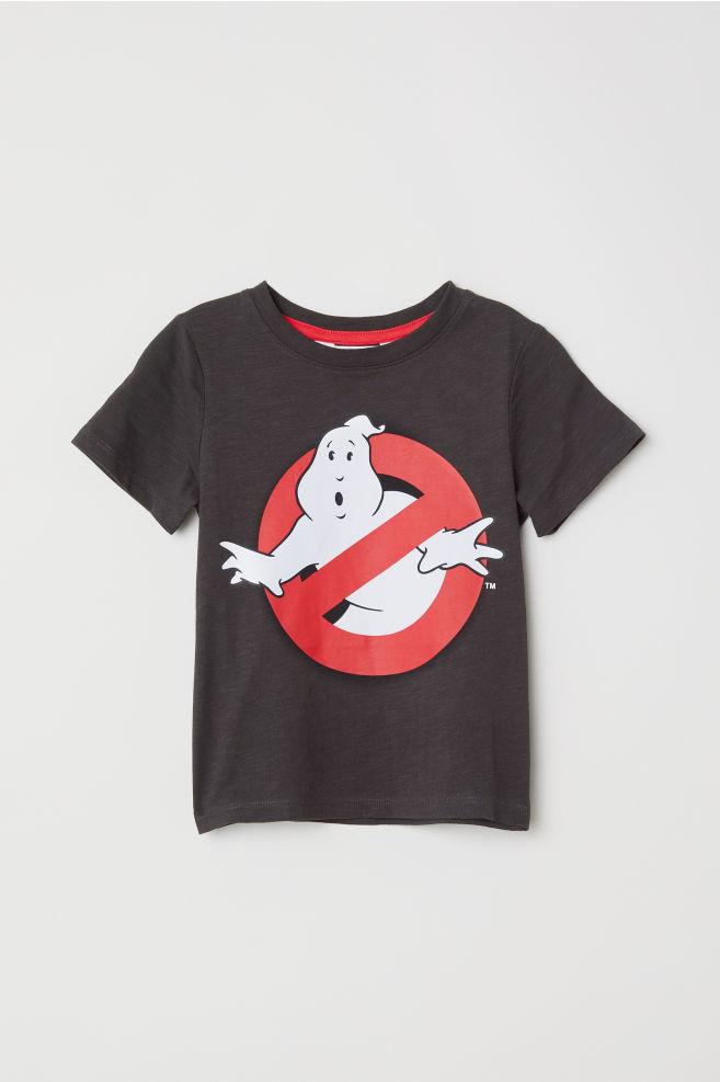 b5420206d Printed T-shirt - Black/Ghostbusters - Kids | H&M ...