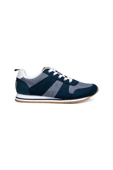 Trainers - Dark blue/Chambray - Kids | H&M
