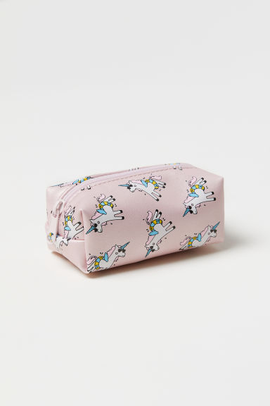 Mini pouch bag - Powder pink/Unicorns -  | H&M