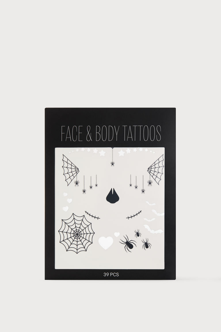 Temporary face & body tattoos - Black - Ladies | H&M IE