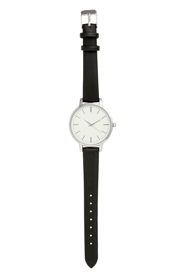 Watch - Black/Silver-coloured - Ladies | H&M CN