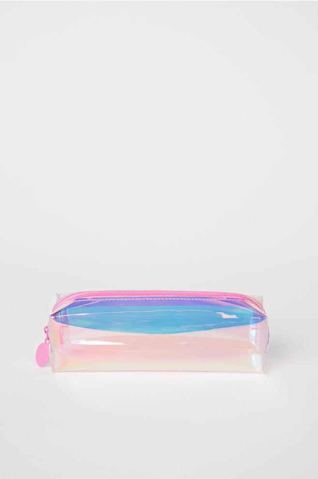 7419d5caa9 Makeup Brush Bag - Pink holographic - Ladies