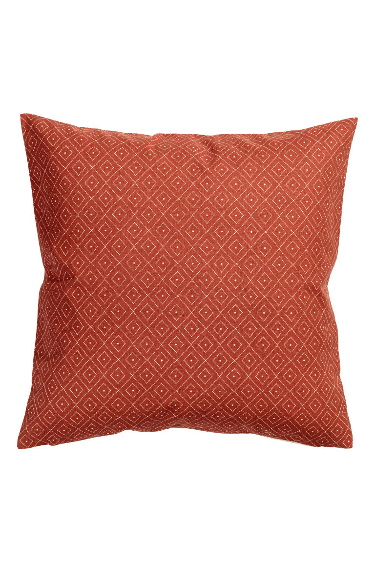 Housse de coussin en coton - Orange - Home All | H&M FR